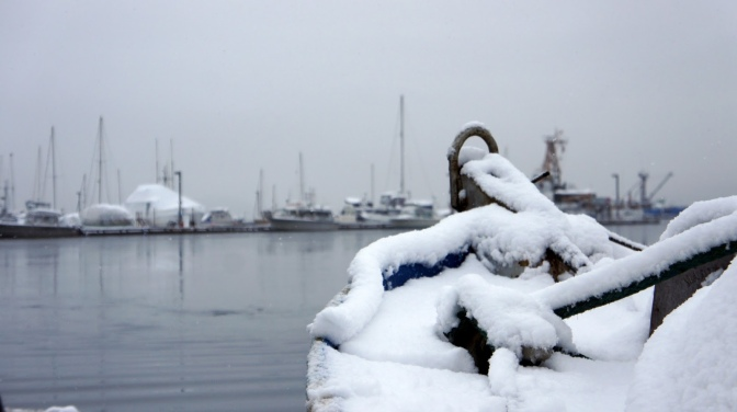 Commercial Fishing Photo Of The Day | Auke Bay Winter 2013