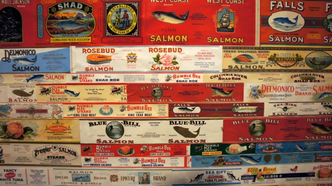Commercial Fishing Photo Of The Day | Salmon Labels | Astoria, Or