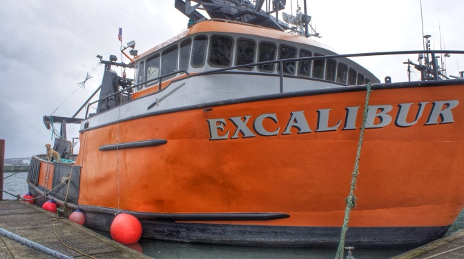 Commercial Fishing Photo Of The Day | F|V Excalibur | Newport, OR