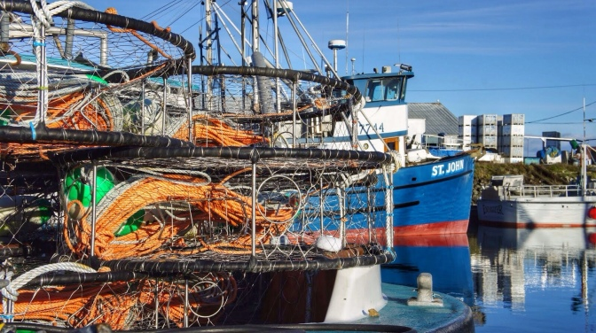 Commercial Fishing Photo Of The Day | F/V St. John | Port Townsend, WA