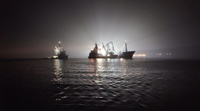 Commercial Fishing Photo Of The Day | Late Nite Tender