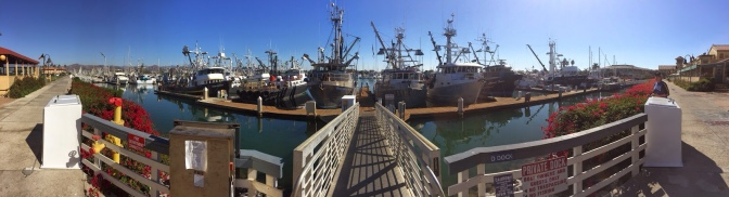 Commercial Fishing Photo Of The Day | Ventura Harbor Panorama