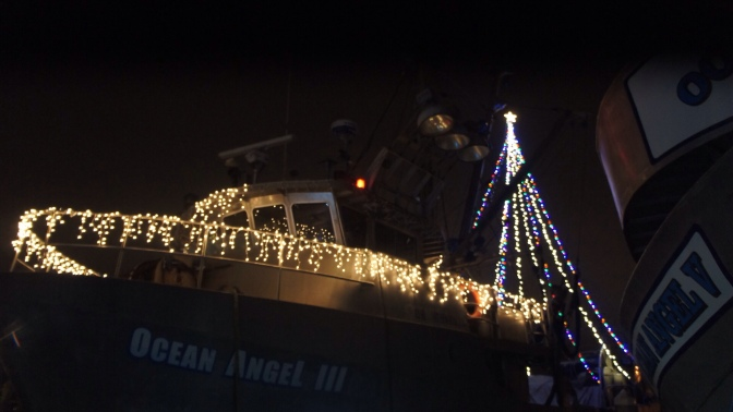 Commercial Fishing Photo Of The Day | F/V Ocean Angel 3 | X Mas Edition