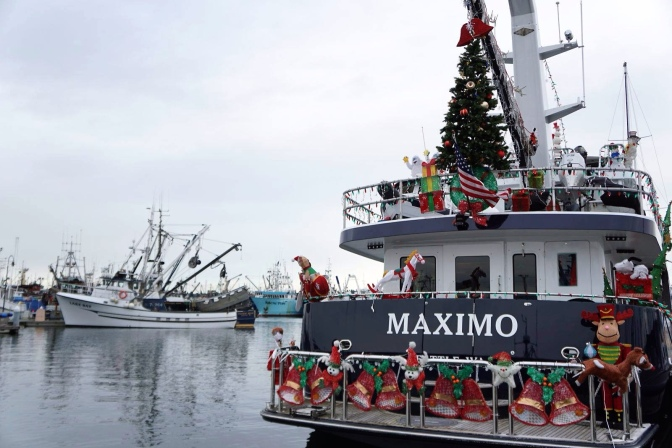 Commercial Fishing Photo Of The Day |  Fishermen's Terminal Xmas 2014